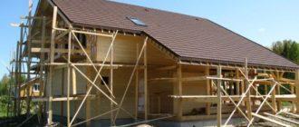 Навесной фасад для частного дома