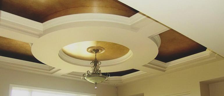 Подвесной потолок в коридоре – пленка, гипсокартон или что-то еще