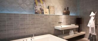 Бордюрная лента для ванной: простая установка, доступный материал